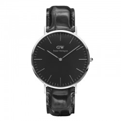 Montre Daniel Wellington READING Ref DW00100135-Ø40-SV-cuir