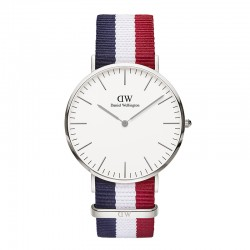 Montre Daniel Wellington CAMBRIDGE Ref DW00100017-Ø40-SV-nato