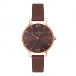 Montre Olivia Burton ref OB16MD70, Brown Dial