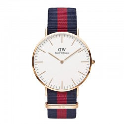 Montre Daniel Wellington OXFORD Ref DW00100001-Ø40-RG-nato