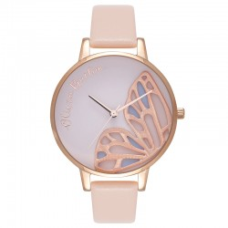 Montre Olivia Burton ref OB16EB01, Embroidered Butterfly