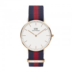 Montre Daniel Wellington OXFORD Ref DW00100029-Ø36-RG-nato