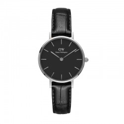Montre Daniel Wellington READING Ref DW00100235-Ø28-SV-cuir