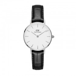 Montre Daniel Wellington READING Ref DW00100241-Ø28-SV-cuir