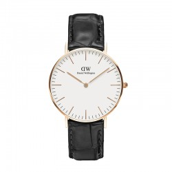 Montre Daniel Wellington READING Ref DW00100041-Ø36-RG-cuir