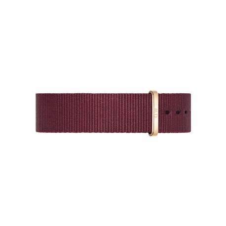 Bracelet Daniel Wellington Roselyn Nato 18mm-RG