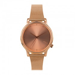 Montre KOMONO ref 2863, cad rose gold, brac m'tal rose gold