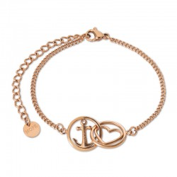 Bracelet Tom Hope chain Love and hope rosegold