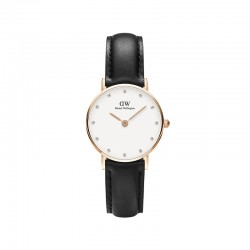 Montre Daniel Wellington SHEFFIELD Ref DW00100060-Ø26-RG-cuir
