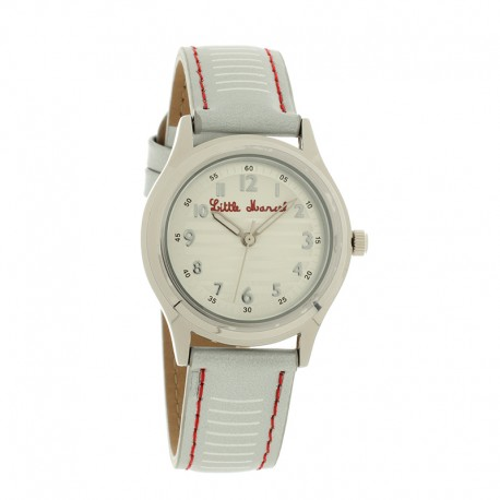 Montre LITTLE MARCEL ref LM45, cad ray', brac cuir ray'