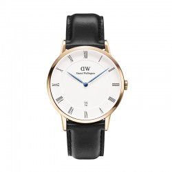 Montre Daniel Wellington SHEFFIELD Ref DW00100084-Ø38-RG-cuir