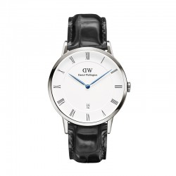 Montre Daniel Wellington READING Ref DW00100108-Ø38-SV-cuir