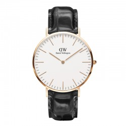 Montre Daniel Wellington READING Ref DW00100014-Ø40-RG-cuir