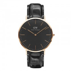 Montre Daniel Wellington READING Ref DW00100129-Ø40-RG-cuir