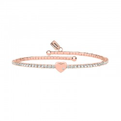 Bracelet LPS Love lux central heart rose gold