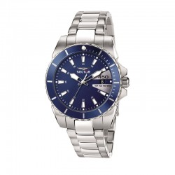 450 41MM 3H BLUE DIAL BR SS