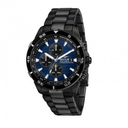 ADV2500 43MM CHR BLUE DIAL BR BLACK