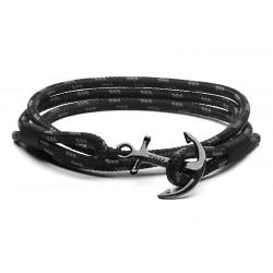 Bracelet Tom Hope Triple Black Taille L