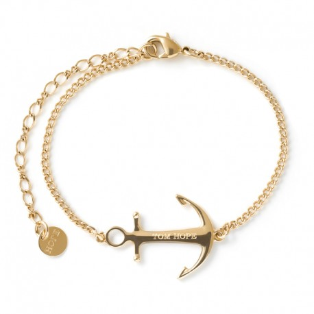 Bracelet Tom Hope Saint Yellow gold
