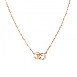 Collier Tom Hope chain Love and hope rosegold