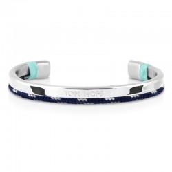 Bracelet Tom Hope Hybrid Cuff-SV/BL/GR-