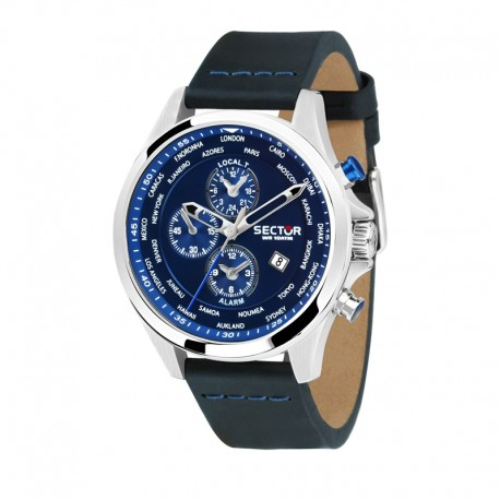 180 EXT 45mm BLUE DIAL BLACK ST
