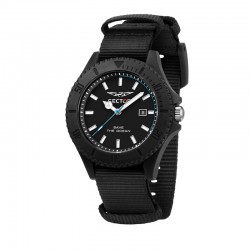 SAVE THE OCEAN 43MM 3H BLACK DIAL BLK ST
