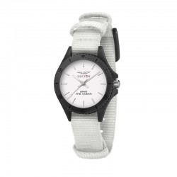 SAVE THE OCEAN 32MM 3H WHITE DIAL WHI ST