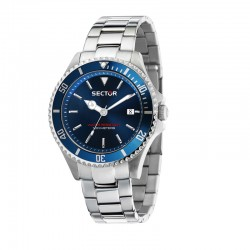 230 43mm 3H BLUE DIAL BR SS