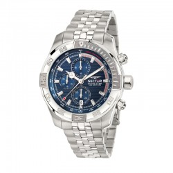 DIVING TEAM 45MM CHR BLUE DIAL BR SS