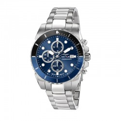 450 43MM CHR BLUE DIAL BR SS