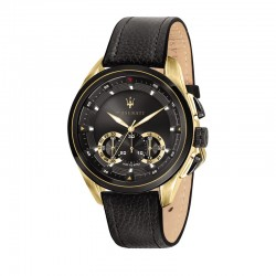 TRAGUARDO 45MM CHR GUN DIAL BLACK STR